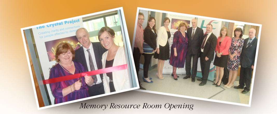 The Crystal Project Memory Resource Room in Mallow Primary Healthcare Centre