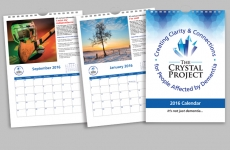 The Crystal Project 2016 Calendar