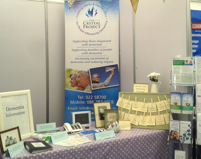The Crystal Project public awareness at the Mallow Home & Garden exhibition