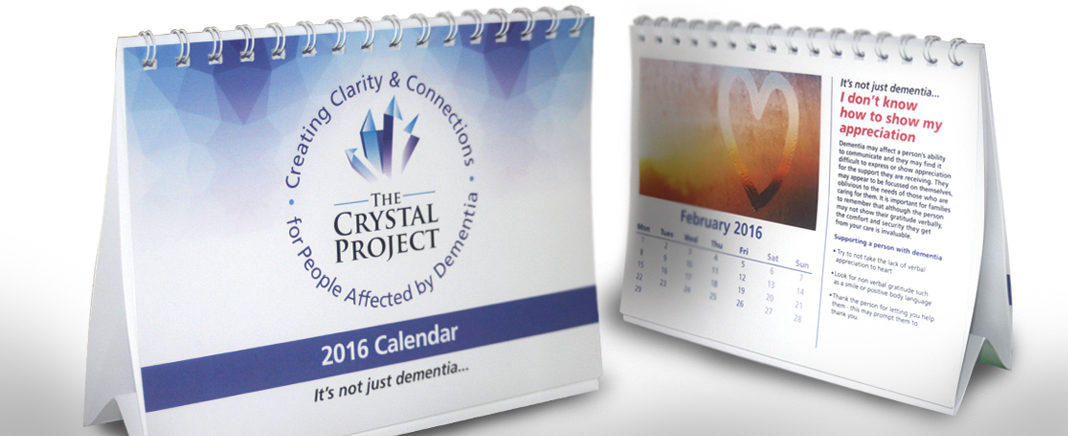 The Crystal Project Desktop Calendar