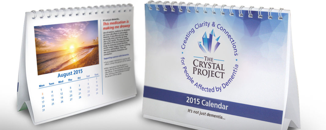 The Crystal Project Desktop Calendar 2015