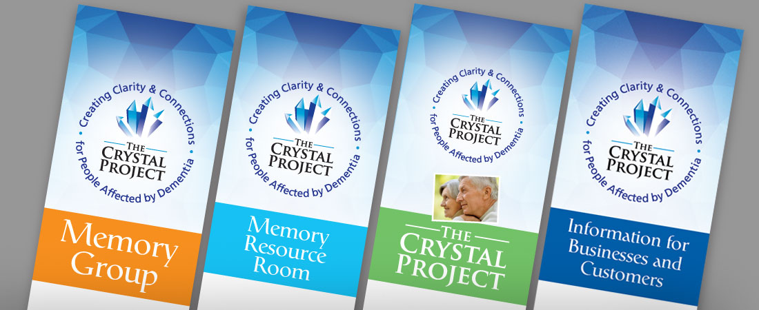 The Crystal Project for people affected by Dementia Leaflets